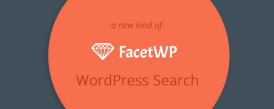 Faceted search for WordPress