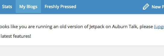 Managing Jetpack enabled blogs on WordPress.com