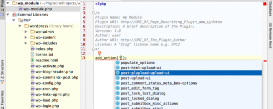 PhpStorm IDE gets official WordPress support in version 8