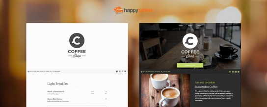 Happytables 3 is taking on Squarespace and Wix for restaurant websites with a brand new platform