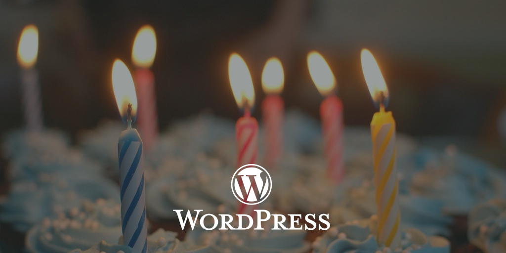 WordPress is 18!